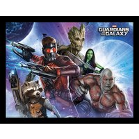 Guardians Of The Galaxy - Team Framed 30 x 40cm Print