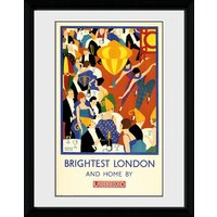 Transport For London Brightest London 2 Framed Collector Print