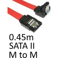 Locking SATA II (M) to Locking SATA II (M) 0.90m Red OEM Internal Data Cable