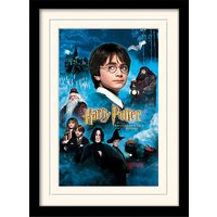 Harry Potter - Philosophers Stone Mounted & Framed 30 x 40cm Print