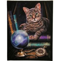 Small Fortune Teller Canvas Pictyre by Lisa Parker