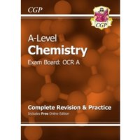 A-Level Chemistry: OCR A Year 1 & 2 Complete Revision & Practice with Online Edition