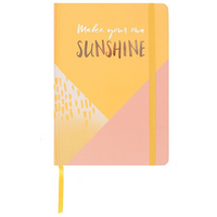 Make Your Own Sunshine A5 Notebook