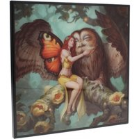 Fairy and Owl Small Crystal Clear Picture