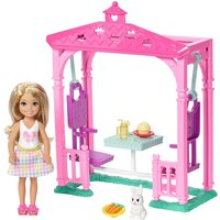 Image of Barbie Club Chelsea Picnic Doll & Playset