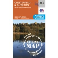 Chesterfield and Alfreton by Ordnance Survey (Sheet map, folded, 2015)