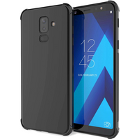 Samsung Galaxy A6 Plus (2018) Alpha TPU Gel - Black