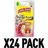 Forest Fruit (Pack Of 24) Little Trees Bottle Air Freshener