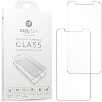 Caseflex iPhone XR Tempered Glass Screen Protector - Twin Pack