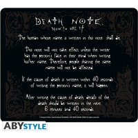 Death-Note - Rules Mouse Mat