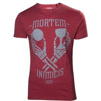 Uncharted 4 A Thief's End Men's Mortem Inimicis Suis Small T-Shirt
