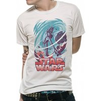 Star Wars - Hoth Vintage Men's Small T-Shirt - White