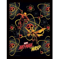 Ant-Man and The Wasp - Atomic Framed 30 x 40cm Print
