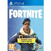 Fortnite Royale Bomber Outfit + 500 V-Bucks PS4 PSN Digital Download PSN Digital Download