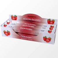6 Packs of Elements Strawberry Incense Sticks