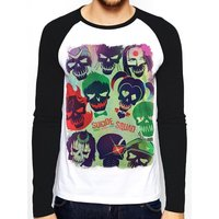 Suicide Squad - Poster Unisex Small T-Shirt - White
