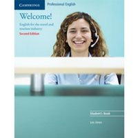 Welcome! Student's Book: English for the Travel and Tourism Industry by Leo Jones (Paperback, 2005)