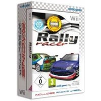 Rally Racer Game with Racing Wheel