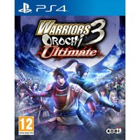 Warriors Orochi 3 Ultimate PS4 Game (with Toukiden Collaboration Costume DLC)