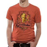 Harry Potter - Brave Men's X-Large T-Shirt - Red