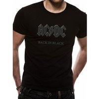 AC/DC Back In Black T-Shirt Small
