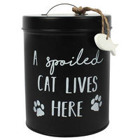 Cat Biscuit Tin