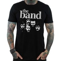 The Band - Heads Men's Small T-Shirt - Black