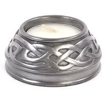 Celtic Candle Holder Silver (Small)