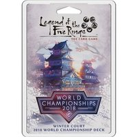 Legend Of The Five Rings 2018 Winter Court World Championship Deck