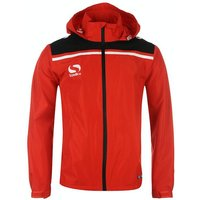 Sondico Precision Rain Jacket Adult X Large Red/Black