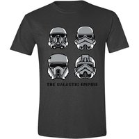 Star Wars Rogue One - The Galactic Empire Men's Small T-Shirt - Grey