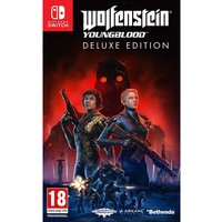 Wolfenstein Youngblood Deluxe Edition Nintendo Switch Game [Code In a Box] (Pre-Order Bonus)