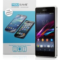 YouSave Accessories Sony Xperia Z1 Compact Screen Protectors X 3 - Clear