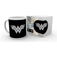 DC Comics Wonder Woman Monotone Logo Mug