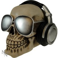 Easy Listening Skull Money Box