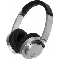 Groov-e GVBT400SR Fusion Wireless Bluetooth or Wired Stereo Headphones Silver