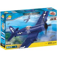 Cobi Small Army WWII Vought F4U Corsair Aircraft 245 Toy Building Bricks