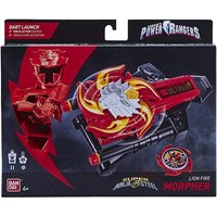 Power Rangers Super Ninja Steel Lion Fire Morpher Figure
