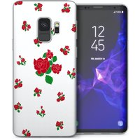 CASEFLEX SAMSUNG GALAXY S9 RED ROSES CASE / COVER (3D)
