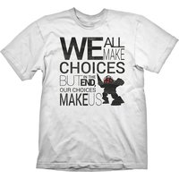 Bioshock - Quote Men's X-Large T-Shirt - White