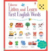 Listen and Learn First English Words by Sam Taplin (Paperback, 2015)