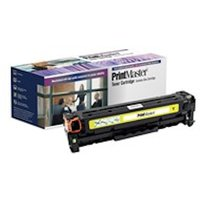 PrintMaster Yellow Toner Cartridge for HP Color LaserJet CP2025 DN/N/X, CM 2320 MFP FXI/N/NF, Canon