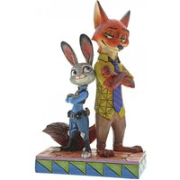 Partners In Crime-Fighting Judy & Nick (Zootropolis) Disney Traditions Figurine