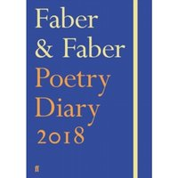 Faber & Faber Poetry Diary 2018 : Royal Blue