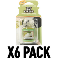 Vanilla Lime (Pack Of 6) Yankee Candle Ultimate Car Jar Air Freshener