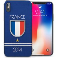 CASEFLEX APPLE IPHONE X FRANCE WORLD CUP CASE / COVER (3D)