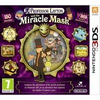 Professor Layton And The Mask Of Miracle Game 3DS (Australian Version)