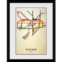 Transport For London Tate Framed Collector Print