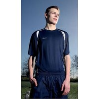 Precision Ultimate Moisture Management Tee Navy/White 42-44inch