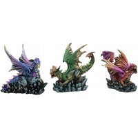 Dragon Rock Protectors Statues